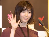 『ブラスト!:ミュージック・オブ・ディズニー』の応援サポーターに就任した島崎遥香 (C)ORICON NewS inc.