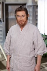 NHK・BSプレミアムのBS時代劇『赤ひげ』11月3日スタート。赤ひげ役の船越英一郎(C)NHK