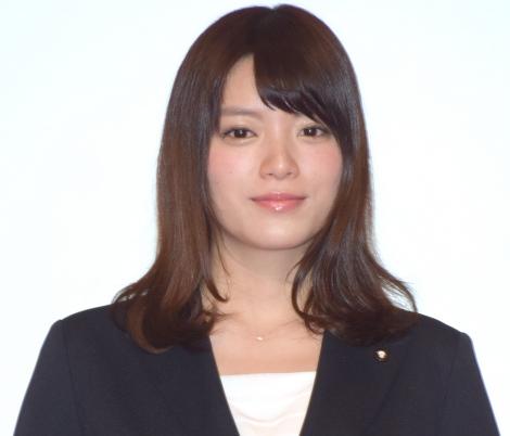 テレビ朝日入社式に出席した2017年度入社・三谷紬アナウンサー (C)ORICON NewS inc.