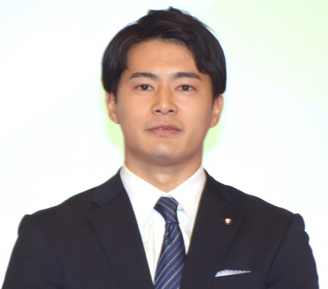 テレビ朝日入社式に出席した2017年度入社・井澤健太朗アナウンサー (C)ORICON NewS inc.