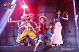 「東京ワンピースタワー」で開催されているショーの模様(C)尾田栄一郎/集英社・フジテレビ・東映アニメーション(C)AmusequestTokyoTowerLLP