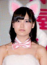 妊娠を発表した元NMB48の松田栞(写真は2012年NMB48在籍時) (C)ORICON NewS inc.