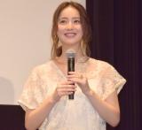 映画『光をくれた人』のトークイベントに参加した佐々木希 (C)ORICON NewS inc.