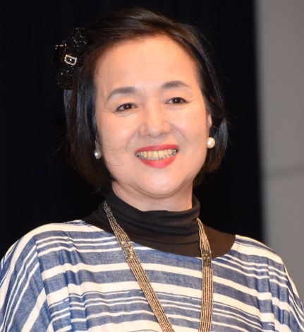 映画『八重子のハミング』のプレミア試写会イベントに登壇した高橋洋子 (C)ORICON NewS inc.
