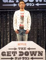 Netflixオリジナルドラマ『GET DOWN(ゲットダウン)』のスペシャルトークショーに参加した久保田利伸 (C)ORICON NewS inc.