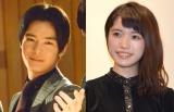 (左から)塩野瑛久、美山加恋 (C)ORICON NewS inc.