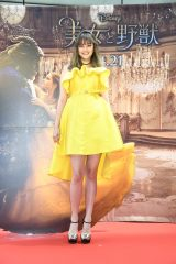 映画『美女と野獣』公開記念 前日祭スペシャル上映会に来場した岸本セシル