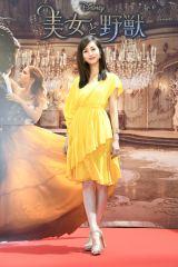 映画『美女と野獣』公開記念 前日祭スペシャル上映会に来場した堀田茜