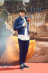 映画『美女と野獣』公開記念 前日祭スペシャル上映会に来場したBOYS AND MEN・小林豊
