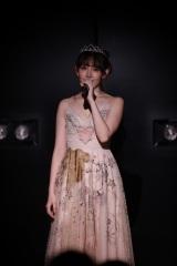 AKB48卒業公演を行った小嶋陽菜(C)AKS