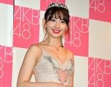 AKB48卒業公演を終えた小嶋陽菜 (C)ORICON NewS inc.