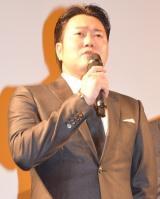 騒動後初公の場に登場した遠藤要=映画『GRAY ZONE』の初日舞台あいさつ (C)ORICON NewS inc.