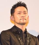 映画『GRAY ZONE』の初日舞台あいさつに出席した山根和馬 (C)ORICON NewS inc.