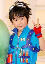 人気子供向け番組『beポンキッキーズ』で史上最年少MCに抜擢された鈴木福 (C)ORICON DD inc.
