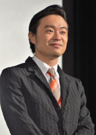 『Jimmy〜アホみたいなホンマの話〜』舞台あいさつに登壇した尾上寛之 (C)ORICON NewS inc.
