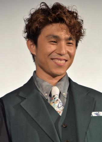 『Jimmy〜アホみたいなホンマの話〜』舞台あいさつに登壇した中尾明慶 (C)ORICON NewS inc.