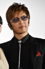 『カーラヌカン』舞台あいさつに出席したGACKT (C)ORICON NewS inc.