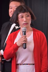 『よしもと新喜劇映画 女子高生探偵 あいちゃん』に出演したすっちー (C)ORICON NewS inc.
