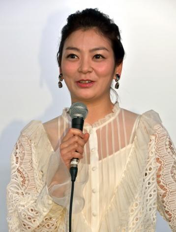 『よしもと新喜劇映画 女子高生探偵 あいちゃん』に出演した田畑智子 (C)ORICON NewS inc.