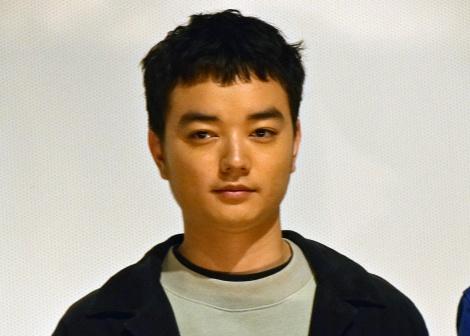映画『PARKS パークス』初日舞台あいさつに登壇した染谷将太 (C)ORICON NewS inc.