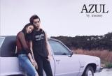 長澤まさみ(左)と杉野遥亮が「AZUL by moussy」の新テレビCMに出演