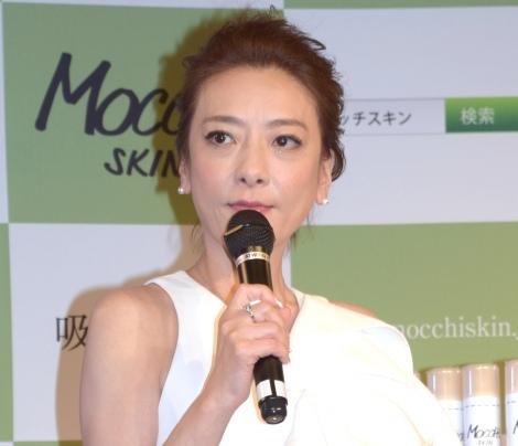 近況について「ストレスしかない」と語った西川史子=新製品『モッチスキン吸着泡洗顔』のPRイベント (C)ORICON NewS inc.