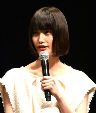 映画『美しい星』完成披露試写会に参加した橋本愛 (C)ORICON NewS inc.