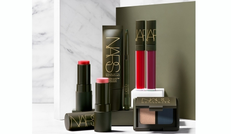 NARS JAPAN「CHARLOTTE GAINSBOURG FOR NARS COLLECTION」