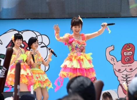 山本彩=「KawaiianTV presents スペシャルステージ」に出演したNMB48 (C)ORICON NewS inc.