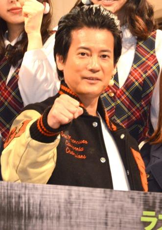 映画『ラストコップ THE MOVIE』の会見した唐沢寿明=『ラストコップ』プロジェクト・ファイナル祭り (C)ORICON NewS inc.