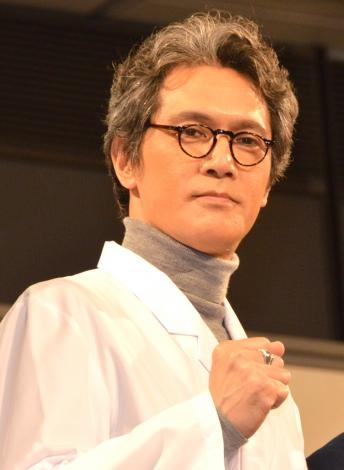 映画『ラストコップ THE MOVIE』の会見に出席した宮川一朗太=『ラストコップ』プロジェクト・ファイナル祭り (C)ORICON NewS inc.