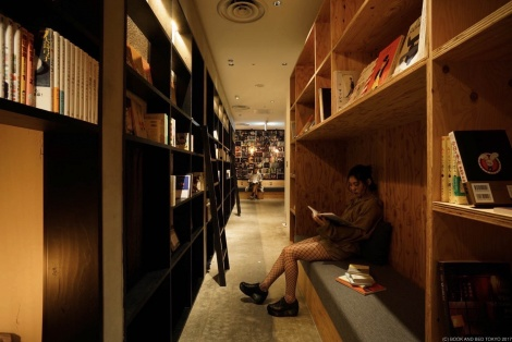 「BOOK AND BED TOKYO」福岡店