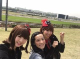 5月4日放送回は、女性の間で人気急上昇の競馬をリサーチしに、東京競馬場へ(C)テレビ朝日