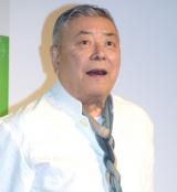 『キリン メッツ グレープフルーツ』のリニューアル記者発表会に出席した中尾彬 (C)ORICON NewS inc.