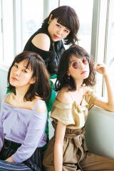 『with』6月号に登場した(左から)水川あさみ、ブルゾンちえみ、桐谷美玲 (C)with