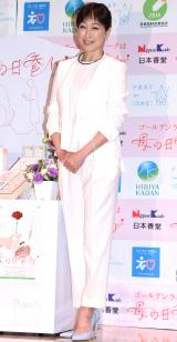 『母の日参りパートナーシップ』の共同プレス発表会に出席した高島礼子 (C)ORICON NewS inc.