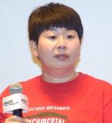 『HITOSHI MATSUMOTO Presents ドキュメンタル』のシーズン2の完成披露試写会に参加した森三中・大島美幸 (C)ORICON NewS inc.