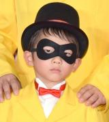 マクドナルドの『親子でナゲットキャンペーン発表会』に出席したダイアモンド☆ユカイの次男・匠音くん (C)ORICON NewS inc.