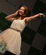ソロデビューシングル「愛してたの」発売日記念ミニライブを開催した増田有華 (C)ORICON NewS inc.