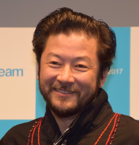 『sodastream cage WORLD tour 2017 in TOKYO』に参加した浅野忠信 (C)ORICON NewS inc.