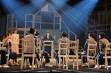 舞台『スキップ』公開ゲネプロの模様(撮影:伊東和則)