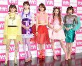 『ViVi Night in TOKYO〜EASTER PARTY〜』に参加する(左から)emma、八木アリサ、トリンドル玲奈、河北麻友子、玉城ティナ (C)ORICON NewS inc.