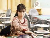 映画『女流闘牌伝aki -アキ-』で主人公の亜樹を演じる岡本夏美