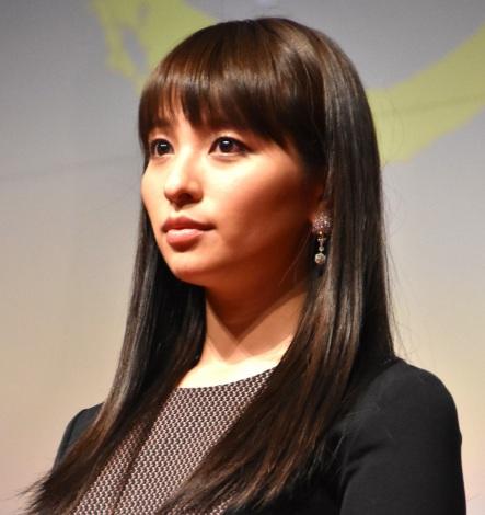 映画『光』完成披露試写会に参加した水崎綾女 (C)ORICON NewS inc.