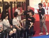 AbemaTV『極楽とんぼ KAKERU TV』生放送の模様 (C)ORICON NewS inc.