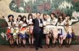 大村秀章愛知県知事を表敬訪問したSKE48(C)AKS