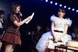 卒業公演を行ったAKB48・小嶋陽菜(C)AKS