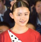 映画『無限の住人』公開直前サプライズイベントに登場した杉咲花 (C)ORICON NewS inc.