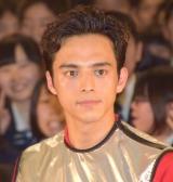 映画『無限の住人』公開直前サプライズイベントに登場した満島真之介 (C)ORICON NewS inc.