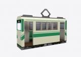 企画展『デジモンアドベンチャー THE REAL WORLD』5月3日から14日まで、東京・ラフォーレミュージアム原宿で開催。最終話の路面電車がフォトスポットに(C)本郷あきよし・東映アニメーション